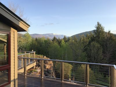 Photo for Timber Frame Elegance with Soaring Mountain Views