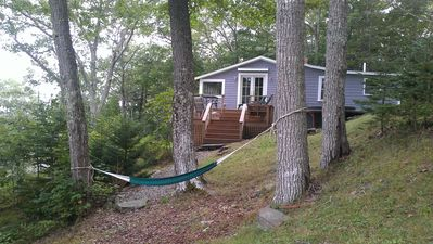 Photo for Charming Cottage - Relax While Viewing Ocean and Islands