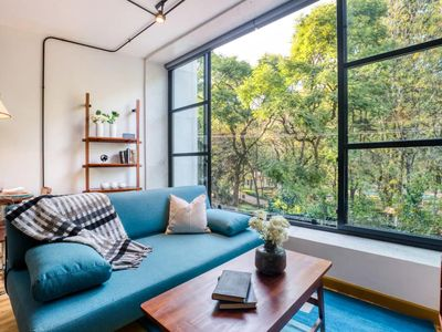Photo for Miravalle Reyes - Modern 1 Bedroom Apartment in Mexico City