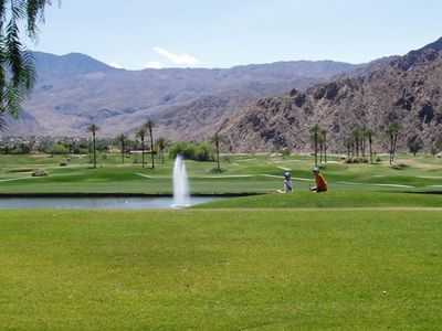 Photo for Beautiful Home On La Quinta Golf Course,  Just Steps To Pool And Tennis Court