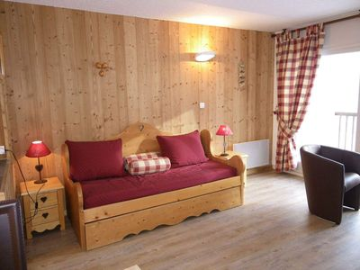 Photo for Studio / studio cabin 4 people 3* South facing