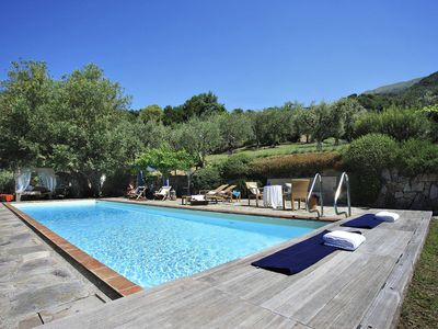Photo for Villa Malva is a beautiful villa in Tuscany 12 km from the beaches of Versilia, private pool, 5 bedr