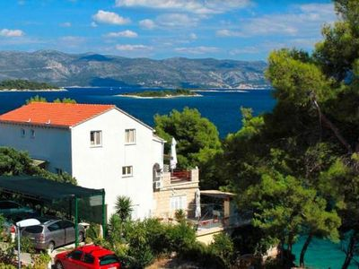 Photo for Holiday flat Pinija, Lumbarda  in Korcula - 4 persons, 2 bedrooms