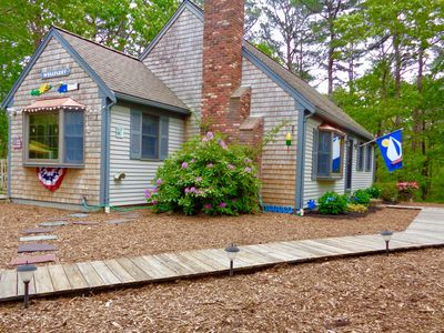 Photo for WELLFLEET LIFE GULL POND VILLAGE- WALK TO PONDS-5 MINUTES TO NEWCOMB BEACH🦀��