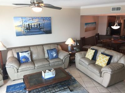 Vacation rental condominium. Sleeps 6, 2 bedrooms, 2 bathrooms. No pets allowed.