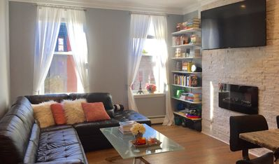 Photo for Beautiful + Cozy 2 Bedroom Hoboken Apartment In Amazing Location