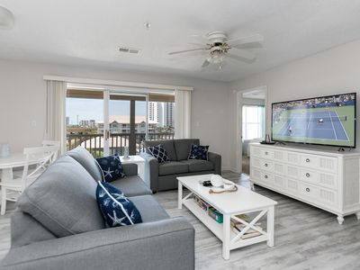 Photo for New Listing! Sophisticated Beach Condo w/ Pool & Private Gulf-View Balcony