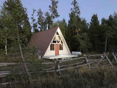 Photo for Last Chance Hideaway - Sleeps 6-8 people, Cozy Cabin 45 min from Yellowstone