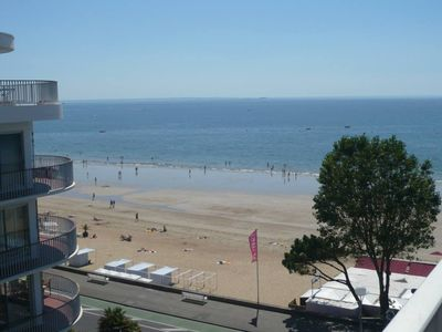 Photo for apartment with seaview in a residential building in the best area of la Baule