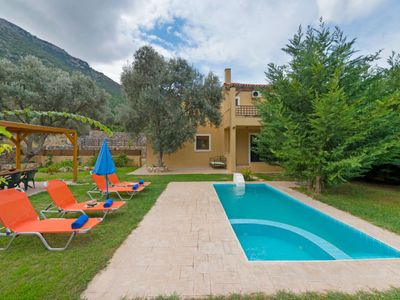 Photo for Charakas Holiday Home, Sleeps 6 with Pool, Air Con and WiFi
