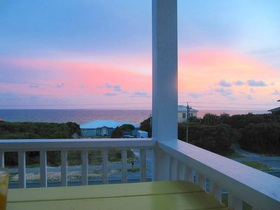 Photo for 2020 Rates Reduced! Covered Porches w/ Gulf Views! Beach*! Community Pool! - Sunset Watch at 30A