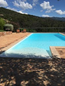 Photo for Apartment in villa with pool