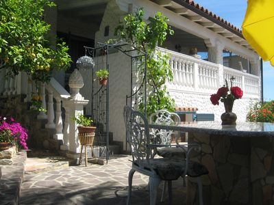 Photo for Free, 9 pers. Holiday Villa-House Costa Rei walking to the sea WIFI BBQ TV SAT