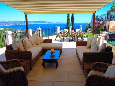 Photo for Beautiful Villa with Magnificent Sea and Mountain views