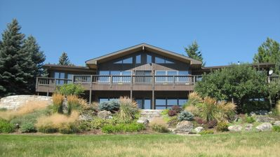 Photo for Orchard House - On the Lake with a boat dock.