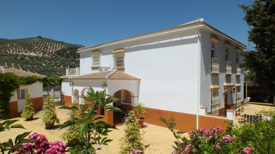 Our beautiful group villa is 400 metre square and perfect for a family holiday