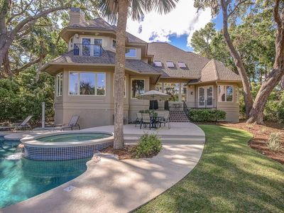 Photo for 4 Beach Lagoon Road - GORGEOUS 6 bedroom home in Sea Pines