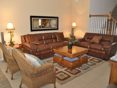 Photo for Private Backyard, South Facing Private Pool/Spa, Game Room, Near Disney!