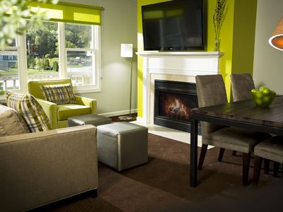 Photo for Sugar Maple Townhouse 1-br Suite with stunning view of Mt. Equinox