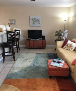 Newly Renovated and Furnished - Walk to Beach, and a short drive to the Casinos!