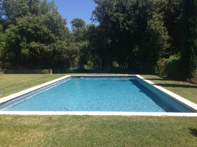 Photo for Large house in Bastide with Pool and Tennis- Wi fi - 12 people