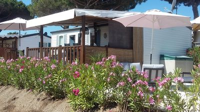 Photo for Pampelonne beach mobile home