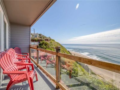 Photo for Oceanfront Townhome with Stunning Ocean View and Private Access!