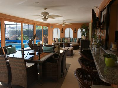 Photo for Luxurious Pool Villa in Paradise, Direct Gulf Access- Lanai House