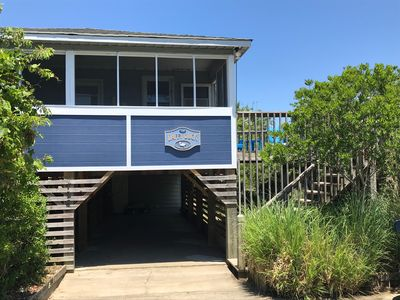 Photo for 3 Bedroom Ocean View Beach Box Cottage in Duck