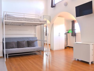 Photo for Oeiras Studio apartment in Oeiras with WiFi & lift.