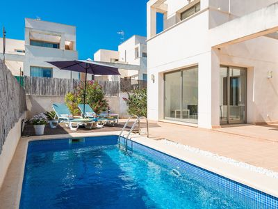 Photo for Town house with pool – Casa Port I Mar