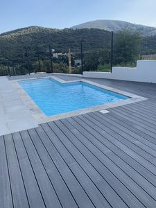 Photo for New villa 6/8 p with pool on the heights of Sainte-Maxime