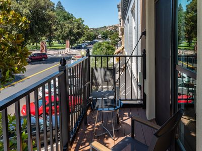 Photo for Balcony Overlooking Town Square in Downtown Paso Robles