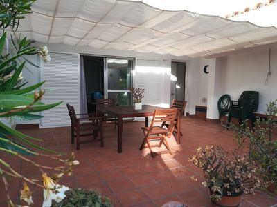 Photo for Townhouse in urbanization Loma Sancti Petri, wifi, parking, 4 swimming pools, 2 paddle,