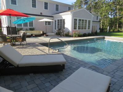 Photo for Heated saltwater pool!