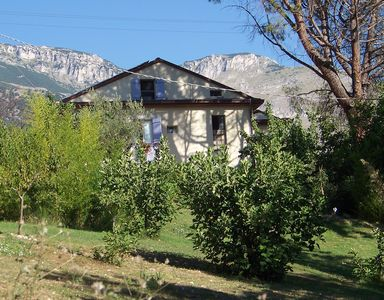 Casa del Fiume viewed from the garden.