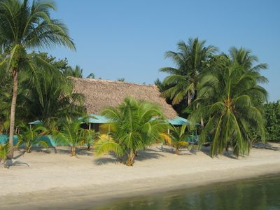 Photo for Beachfront in  Belize with all the modern Convieniences