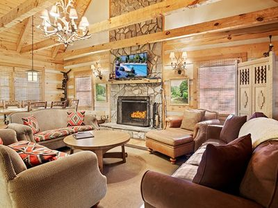 Rainbow's End- Log Cabin, Mountain Feel, Close to High Country Attractions -Last minute Discount ...