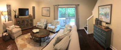 Photo for NEW EXQUISITELY DECORATED CONDO! Pool, Bikes, 1GB Fiber Internet! Close to beach