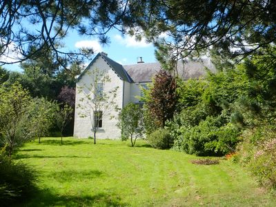 Photo for Luxury Victorian farmhouse, dog friendly, in 7 acres of garden, orchard and wood