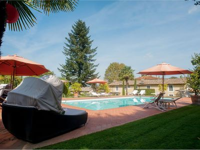 Photo for Villa la Rocca is a wonderful villa in Tuscany near Lucca, with private pool 6 bedrooms 4 bathrooms,