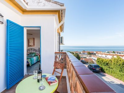 Photo for Beautiful Home On the Beach with Pool, Terrace, Garden & Air Conditioning