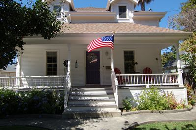 Spacious updated on wonderful quiet street  6 blocks to Downtown Napa.