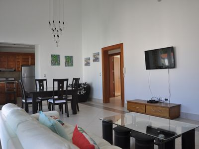 Photo for LUXURY FAMILY-FRIENDLY TOP FLOOR PENTHOUSE WITH LARGE POOL IN SOSUA CENTER