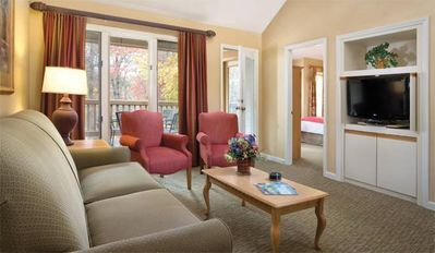 Wyndham Resort at Fairfield Glade Suite Living Area