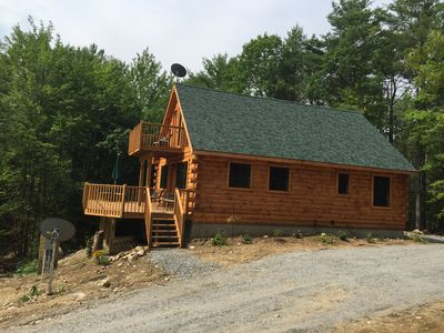 Photo for Luxury Log Cabin II at Schroon Lake
