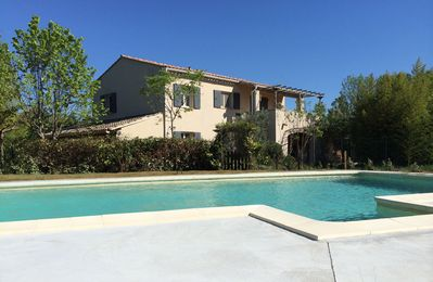 Photo for Rated 4 stars furnished house with garden & pool.