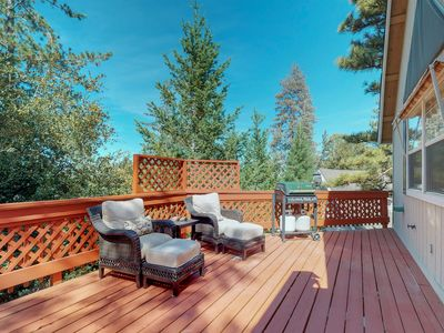 Photo for NEW LISTING! Large family home with a gourmet kitchen and a furnished deck