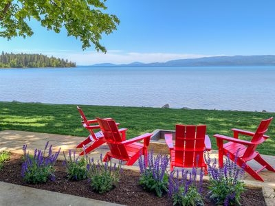 New Build! Stunning Home on Flathead Lake with Dock Access!