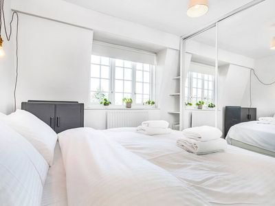 Photo for Charming top floor Central London entire apartment